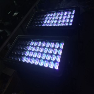 6 효과 48PCS12W RGBW LED DMX STROBE FLOOD WASH LIGHT WATER-PROOF